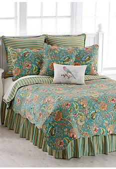 sun drop comforter collection - online only