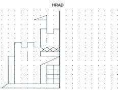 Castle to draw or make a geoboard design. Preschool Worksheets, Preschool Activities, Teaching Math, Teaching Resources, Maths, Math College, Chateau Moyen Age, Geo Board, Montessori Math