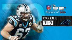 #79 Ryan Kalil (C, Carolina Panthers) | Top 100 Players of 2016