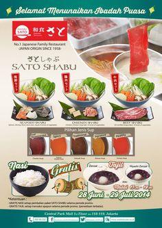 Washoku Sato: Promo Paket Ramadhan @Washoku_SATO_id