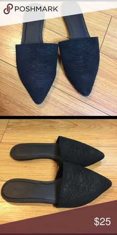 Snack embossed slip on's These are very Comfy and go with everything! Urban Outfitters Shoes Flats & Loafers