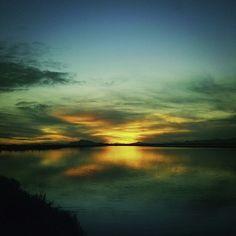 The X sunset.
