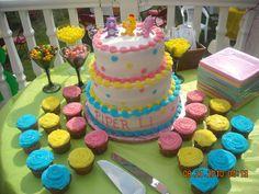 care bear cake baby shower | Care Bear