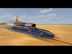 ▶ The ultimate 1,000 mph jet and rocket powered car - BLOODHOUND SSC - YouTube