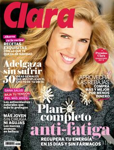 Cover of Clara with Judit Masc�, December 2013 (ID:28262)| Magazines | The FMD #lovefmd