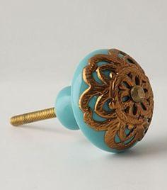Pretty doorknob.