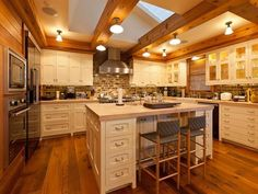 Jerry Seinfeld's Colorado kitchen