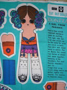 Belinda Lyon Cut Out Doll Rosita Vintage Patterns, Vintage Designs, Paper Dolls, Art Dolls, People's Friend, Friends, Paper People, Prom Girl, Lyon