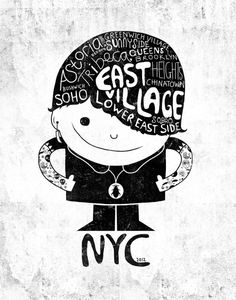 NYC Club Kid 2012 by Farnell #poster #typography