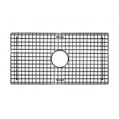 "27"" X 14"" Bottom Grid In Stainless Steel - A bottom sink grid for the Native Trails Zuma sink. This grid comes in both Zuma sink finishes and is designed to fit perfectly in the sink to prevent large items from sitting on the sink bottom. Available at Kitchen Cabinet Kings."