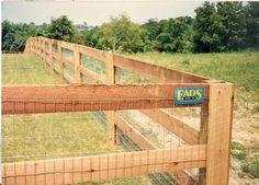 proper fence designs