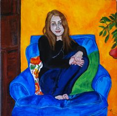 Blue Chair Series: Erica