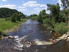 Clear Creek River Colorado | Yampa River Tubing | Colorado River Tubing