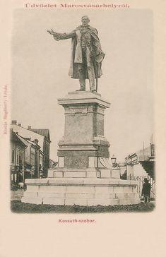 A Kossuth szobor felavatási napján június 11-én kiadott képeslap.1899 Hungary