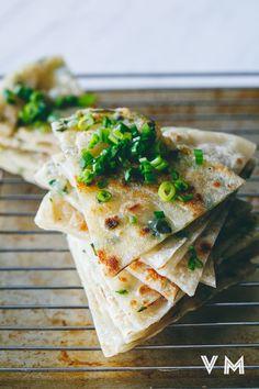 #Vegan Taiwanese Scallion Pancakes   Vegan Miam #asian #taiwanese #breakfast #snack