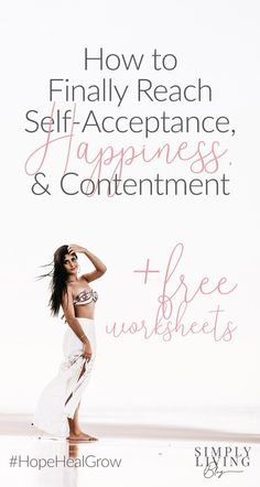 Self-Acceptance is essential to reach a level of happiness with yourself and your life. Learn how compassion leads to healing, contentment, and fulfillment. Happiness Comes From Within, Finding Happiness, Coaching, Confidence Tips, Self Compassion, Self Acceptance, Self Improvement Tips, Self Development, Personal Development