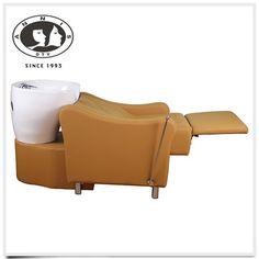 DTY made in china barber equipment European size Soft leather shampoo chair european salon furniture