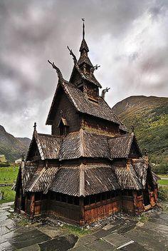 BORGUND STAVE CHURCH • 1180–1250 AD • Borgund, Lærdal, Norway
