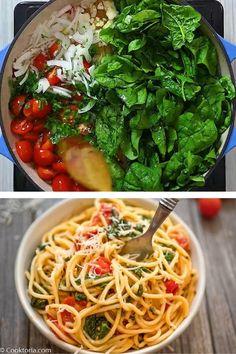 Quick Dinner Recipes, Vegetarian Recipes Dinner, Healthy Dessert Recipes, Quick Meals, Vegan Recipes, Cooking Recipes, One Pot Pasta, Share Photos, Pasta Dishes
