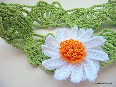 Ravelry: LyubavaCrochet's Easy Daisy Headband