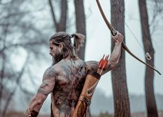 """Viking, Child of Odin"" .Renaissance Nordic vikings cosplay at it's best! From Asgard to Valhalla! Music: ""Celtic Warrior"" by Damiano Baldoni Please consid. Gorgeous Men, Beautiful People, Beautiful Men Bodies, Hair And Beard Styles, Long Hair Styles, Hommes Sexy, Beard Tattoo, Tattoo Ink, Man Bun"