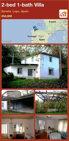 2-bed 1-bath Villa in Baralla, Lugo, Spain ►€54,000 #PropertyForSaleInSpain