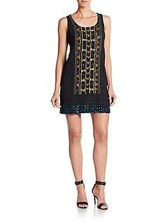 Beadwork Dress - $144.00