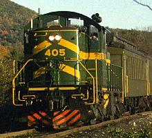 Green Mountain Train....   ..rh