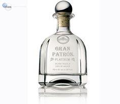 Tequila Gran Patrón Platinum Silver, 100% de agave.