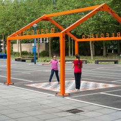 Gridgrounds by Openfabric and Dmau « Landscape Architecture Works | Landezine