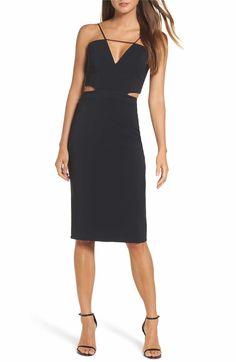 a1452091d751 Main Image - Maria Bianca Nero Melani Strappy Cutout Dress