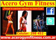 ¿Porqué te conviene entrenar en Acero Gym? - http://acerogymfitness.com.ar/articulos-de-acceso-libre/porque-te-conviene-entrenar-en-acero-gym/