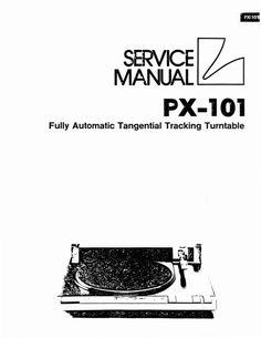 Technics SL-D2 Turntable , Service Manual in 2019