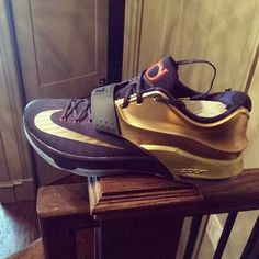 Kd's gold kicks Are too fresh. Maybe I should get em!