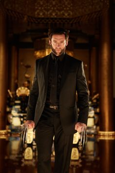 Hugh Jackman as Wolverine in The Wolverine