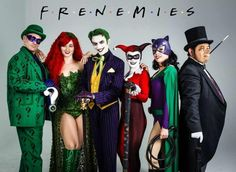 Enigma, Poison Ivy, The Joker, Harley Queen, Catwomen, and Penguin!! Mobile Uploads - Alexandria the Red