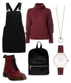 black and burgundy Komplette Outfits, Korean Outfits, Grunge Outfits, Grunge Fashion, Stylish Outfits, Fall Outfits, Fashion Outfits, Moda Grunge, Moda Ulzzang