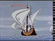Vintagecartoon - Christopher Columbus