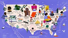 O, The Oprah Magazine published an illustrated map of Black-owned bookstores across the country. Childrens Bookstore, O The Oprah Magazine, Black Authors, Book Cafe, Coffee And Books, Books To Buy, Children's Books, Any Book, Grand Opening