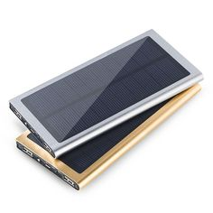 Cheap Power Bank, Buy Directly from China Suppliers:        Tomoral 2017 New Ultra thin Portable Metal Case Powerbank Dual USB Power Bank Solar Charger 20000 mAh For Xiaomi