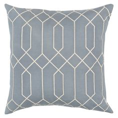 Decor 140 Sorrento Throw Pillow, Blue Other