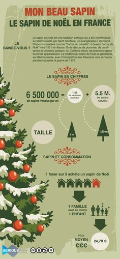 Christmas Tree consumption in France Ap French, Core French, Learn French, French Stuff, French Teacher, Teaching French, French Christmas, Christmas Tree, French Education
