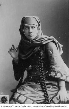 Lillie Langtry in the role of Lady Macbeth from a production of MACBETH, 1889