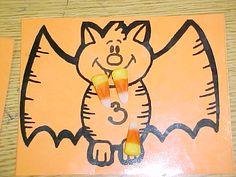 Going Batty Camp Preschool Themes, Preschool Math, Classroom Projects, Math Classroom, Teaching Time, Teaching Math, Math Games, Math Activities, Halloween Themes