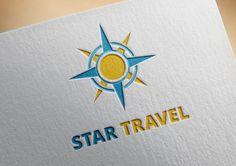 50% OFF Star Travel Logo Template Tourism Adventures by RageRabbit