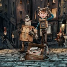 The Boxtrolls is a stop-motion animated adventure from the makers of Coraline and ParaNorman coming to theaters September Dreamworks Movies, Cartoon Movies, Movies Showing, Movies And Tv Shows, Clay Animation, Coming To Theaters, Web Design, Family Movie Night, Halloween 2