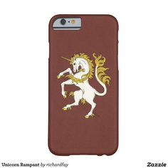 Unicorn Rampant Barely There iPhone 6 Case