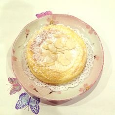 A soufflé is typically a lightly baked cake made with egg yolks and beaten egg whites served as a savoury or sweetened dish.