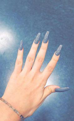 Grey nails ✨|| To see more follow @Kiki&Slim