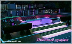 Purple club by Alisa17 - Sims 3 Downloads CC Caboodle